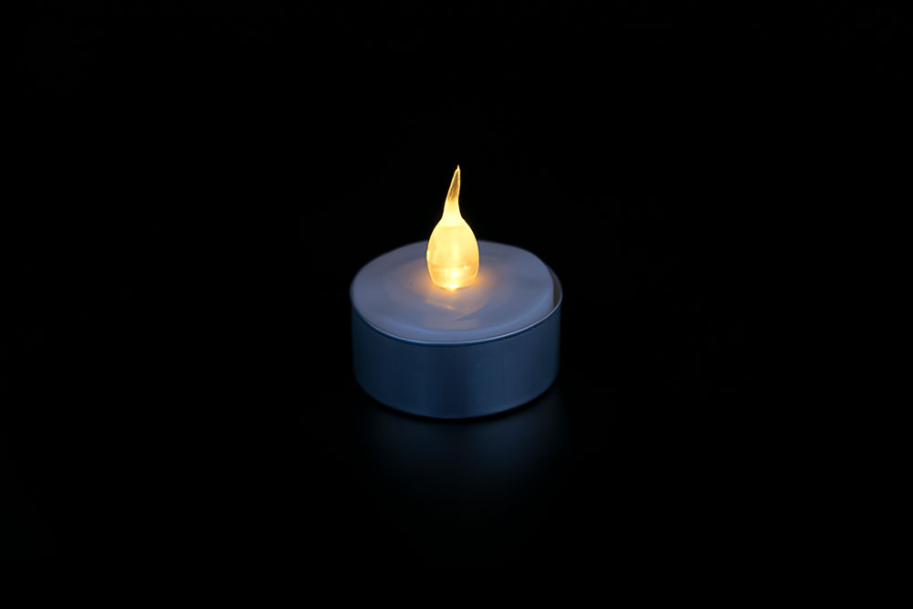 LED Aluminum Shell Candle Light HHT-008
