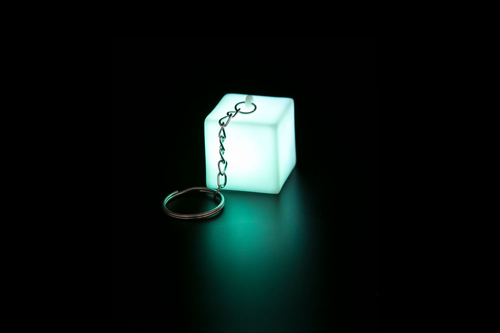 LED Block Key Chain HP-002