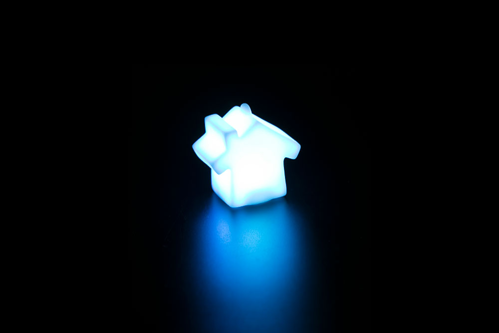 LED House Key Chain HP-004