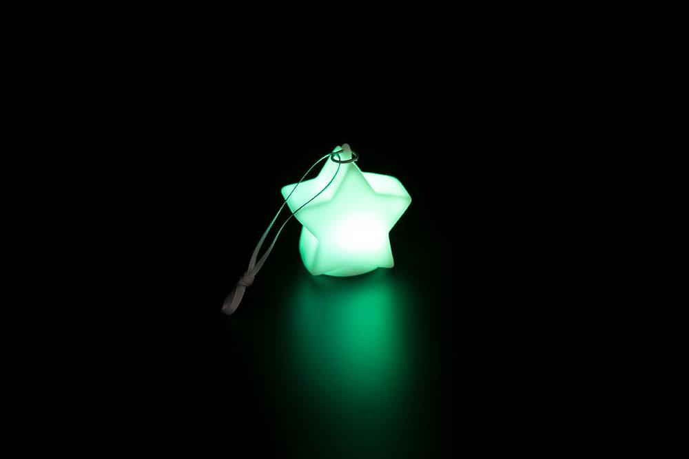 LED Star Key Chain HP-006