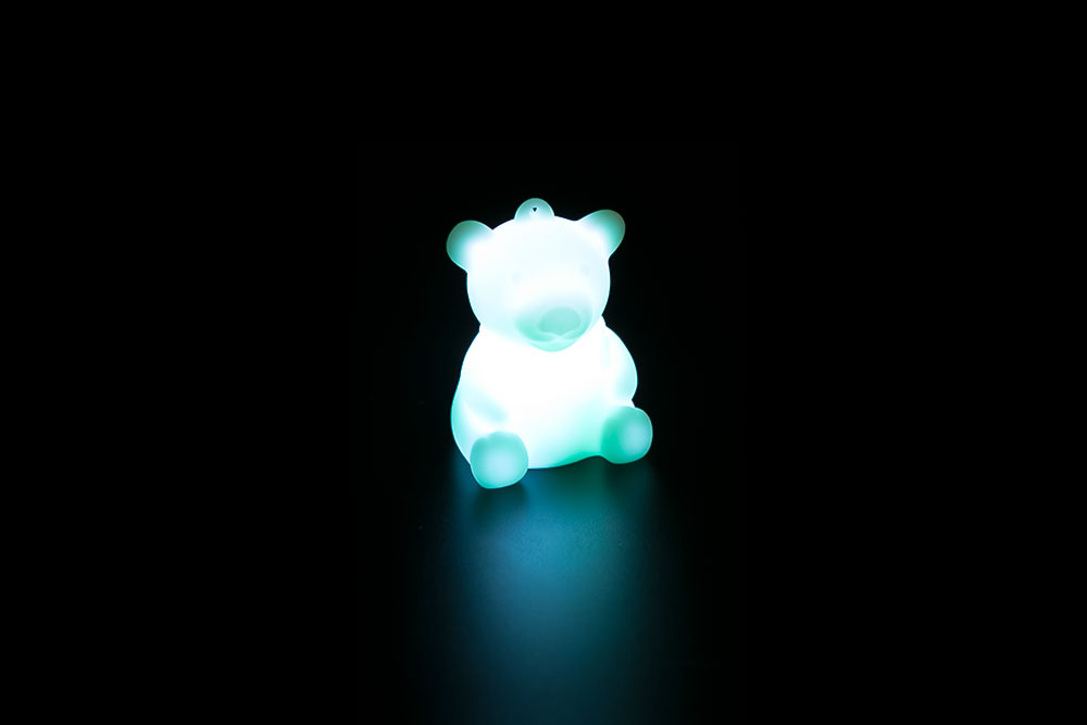 LED Bear Key Chain HP-009