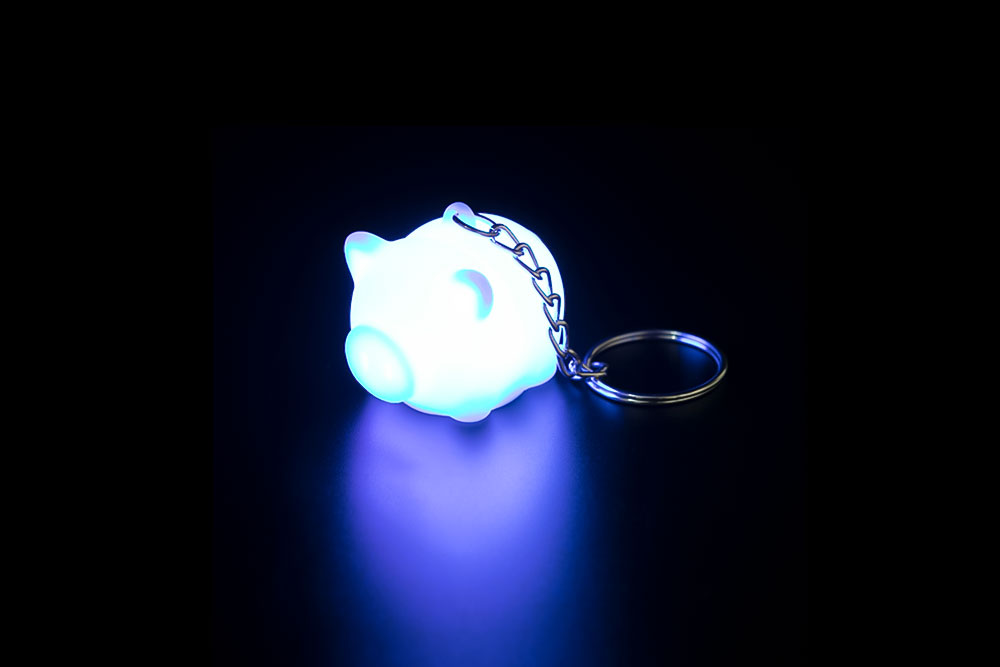 LED Pig Key Chain HP-011