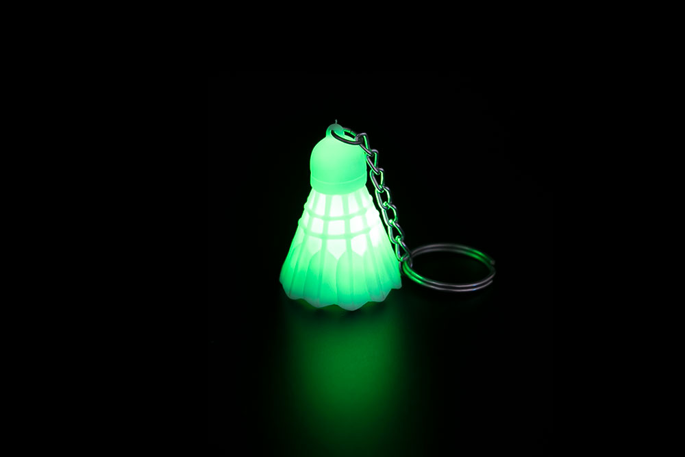 LED Badminton Key Chain HP-013