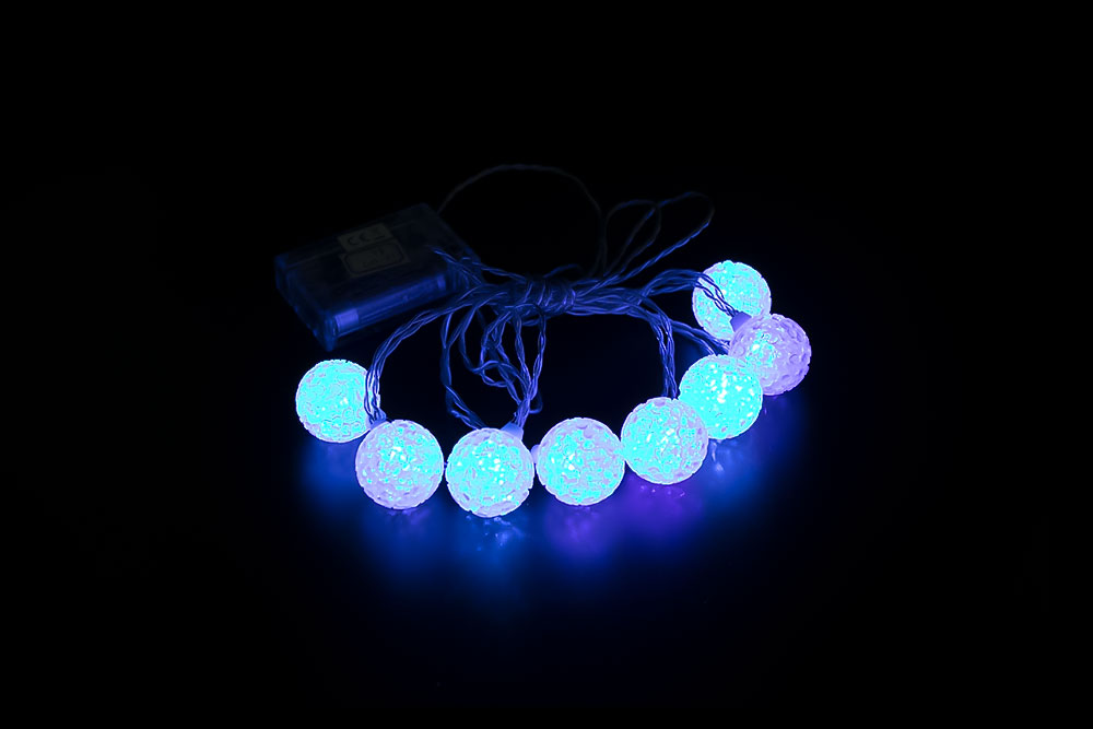 LED 3CM EVA Ball Light Chain LC-017