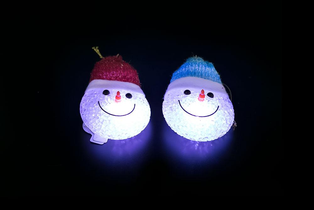 Magic EVA Snowman's head Light HHE-061