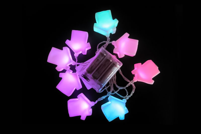 LED House Light Chain A LC-054