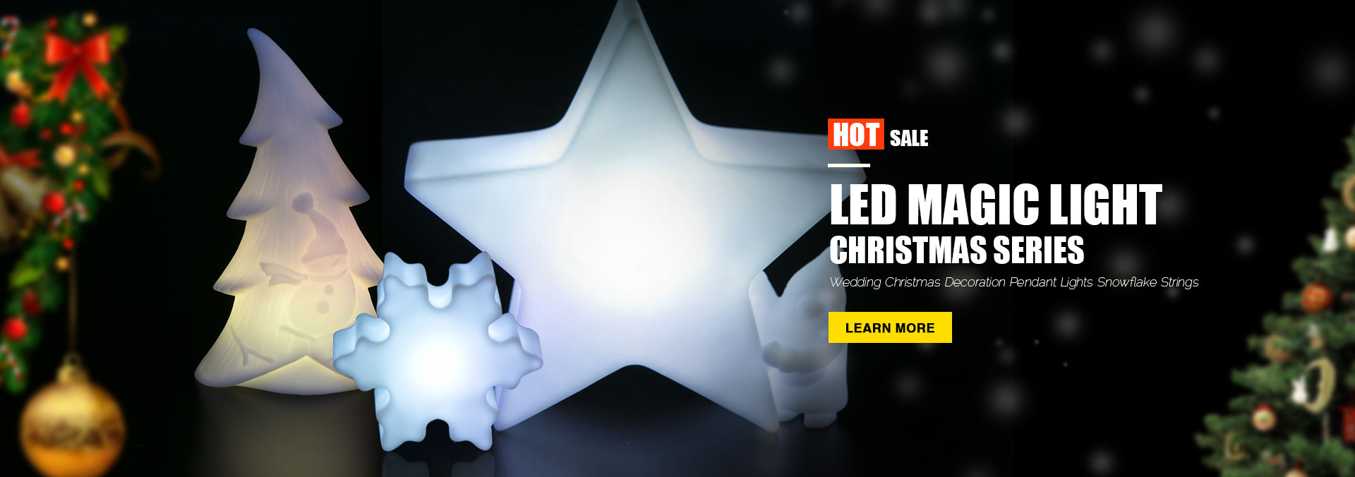 Led Christmas Magic Light