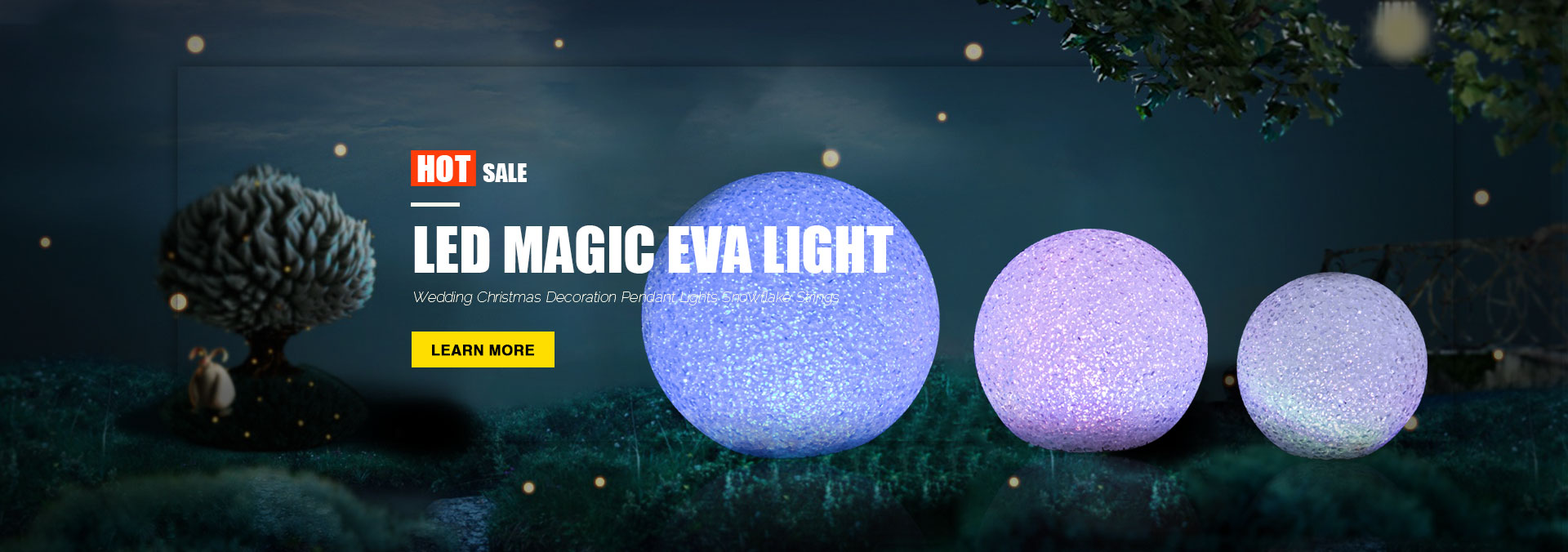 LED Magic Eva Light
